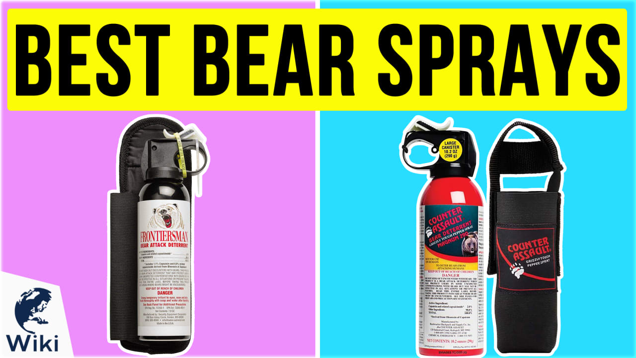 7 Best Bear Sprays