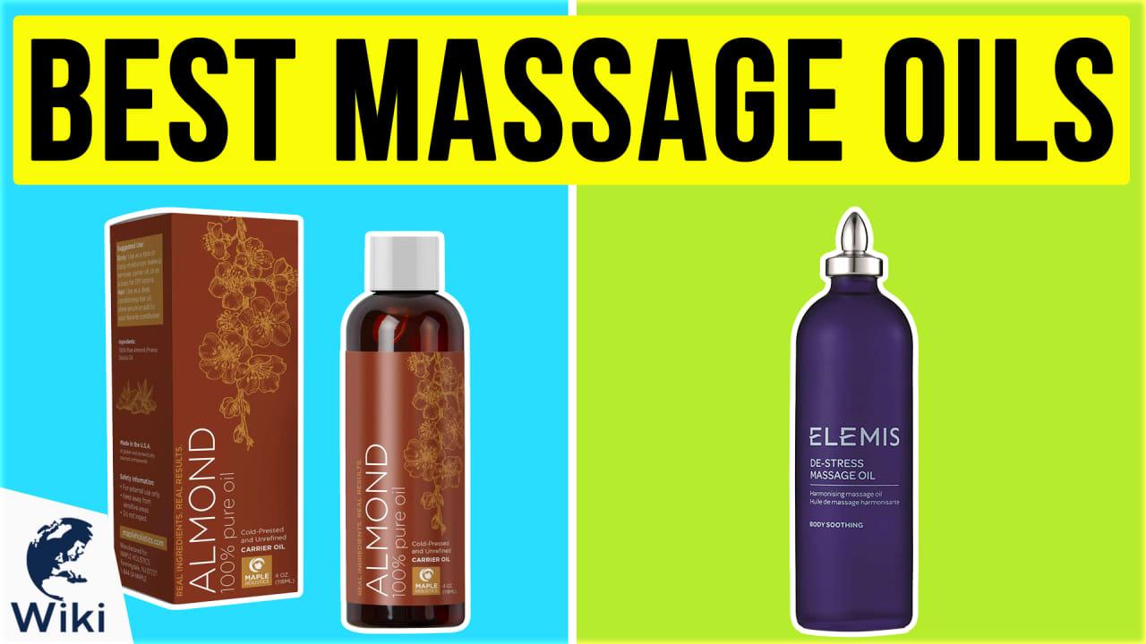 10 Best Massage Oils