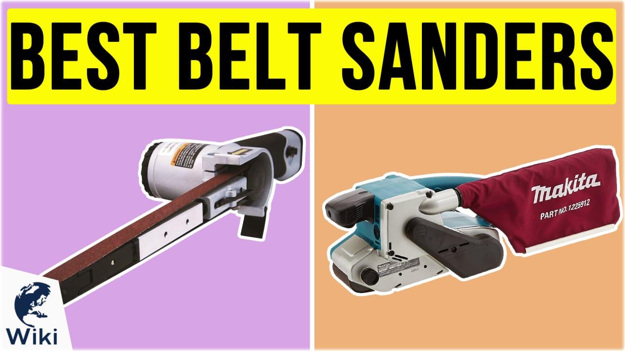 10 Best Belt Sanders