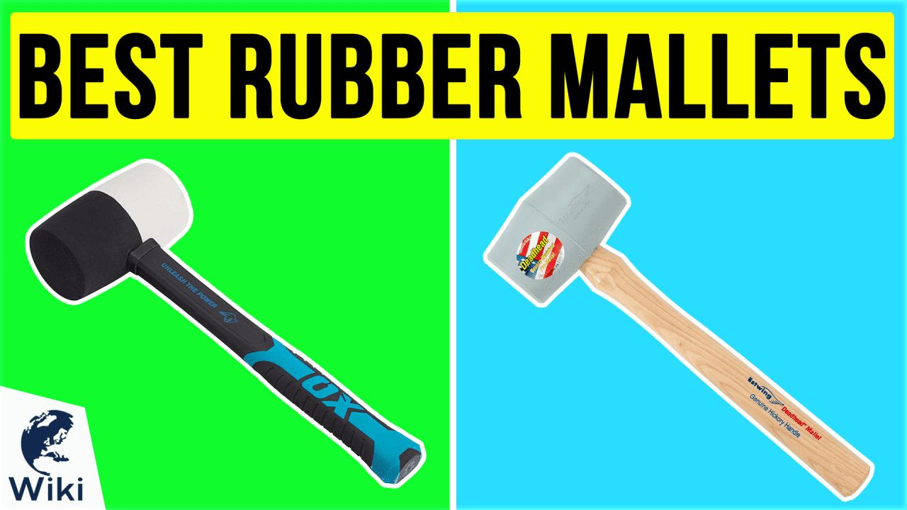 6 Best Rubber Mallets