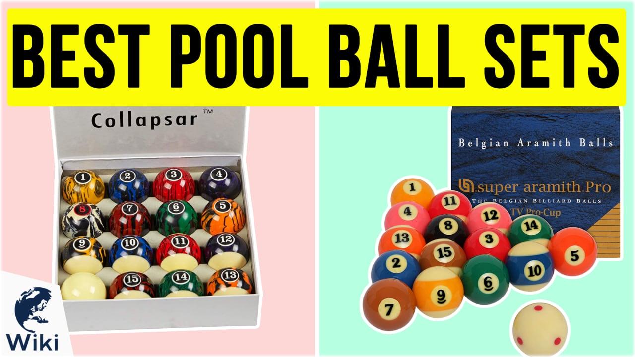 10 Best Pool Ball Sets