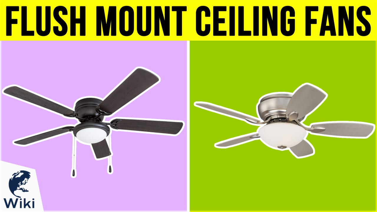 10 Best Flush Mount Ceiling Fans