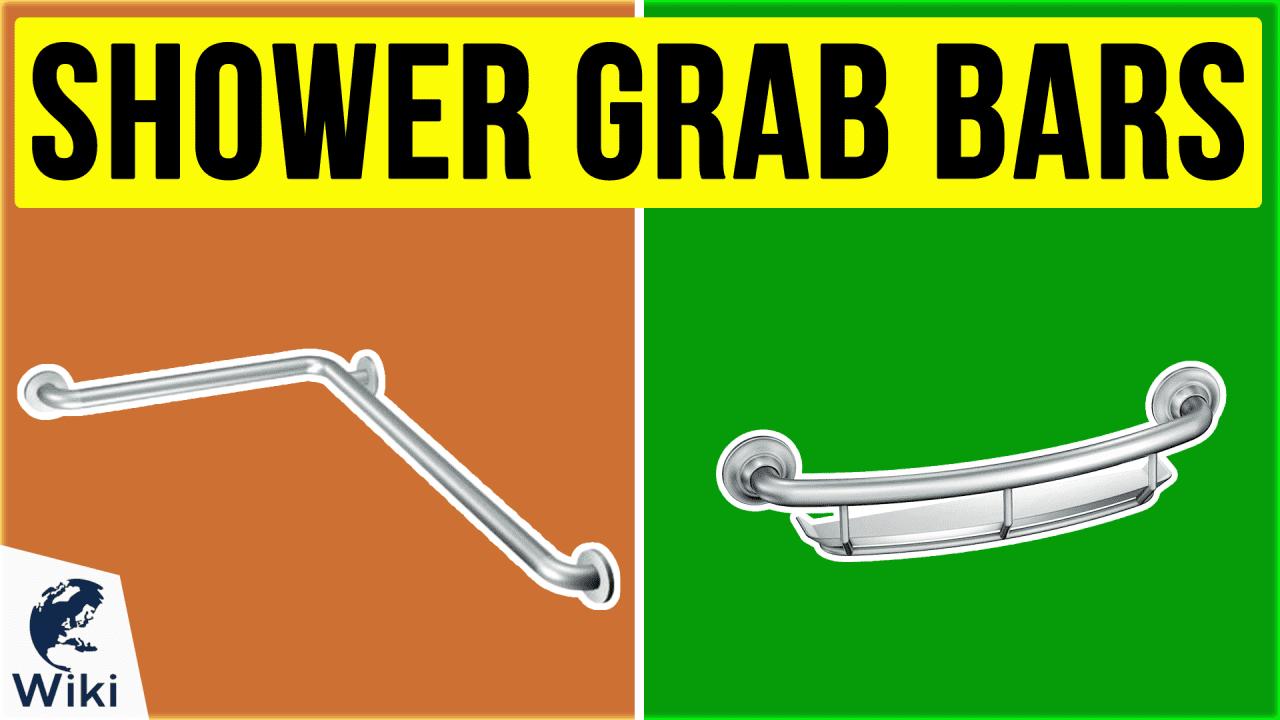 10 Best Shower Grab Bars