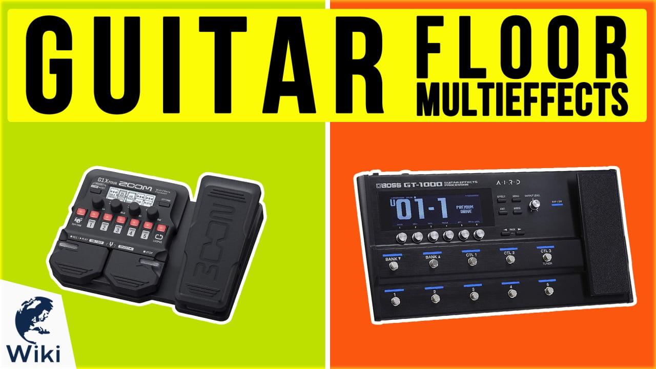 10 Best Guitar Floor Multieffects
