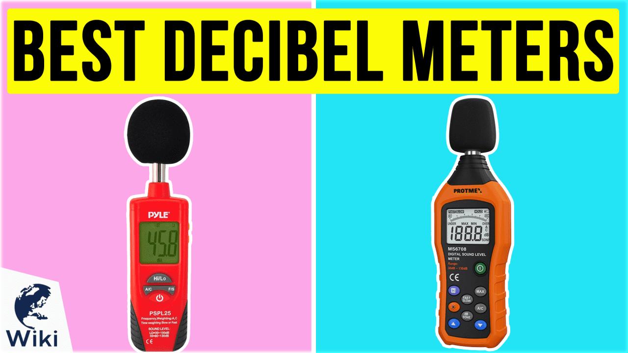 10 Best Decibel Meters