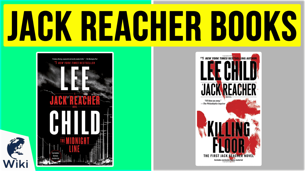 10 Best Jack Reacher Books