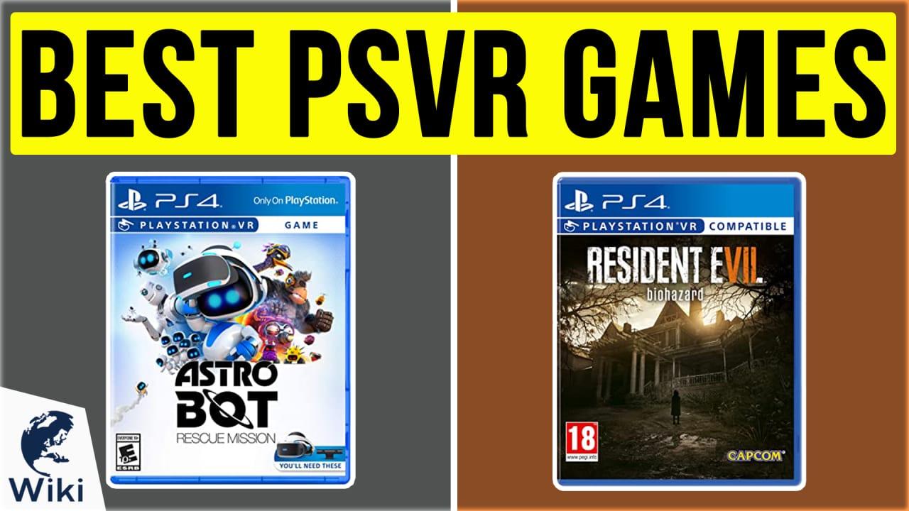 10 Best PSVR Games