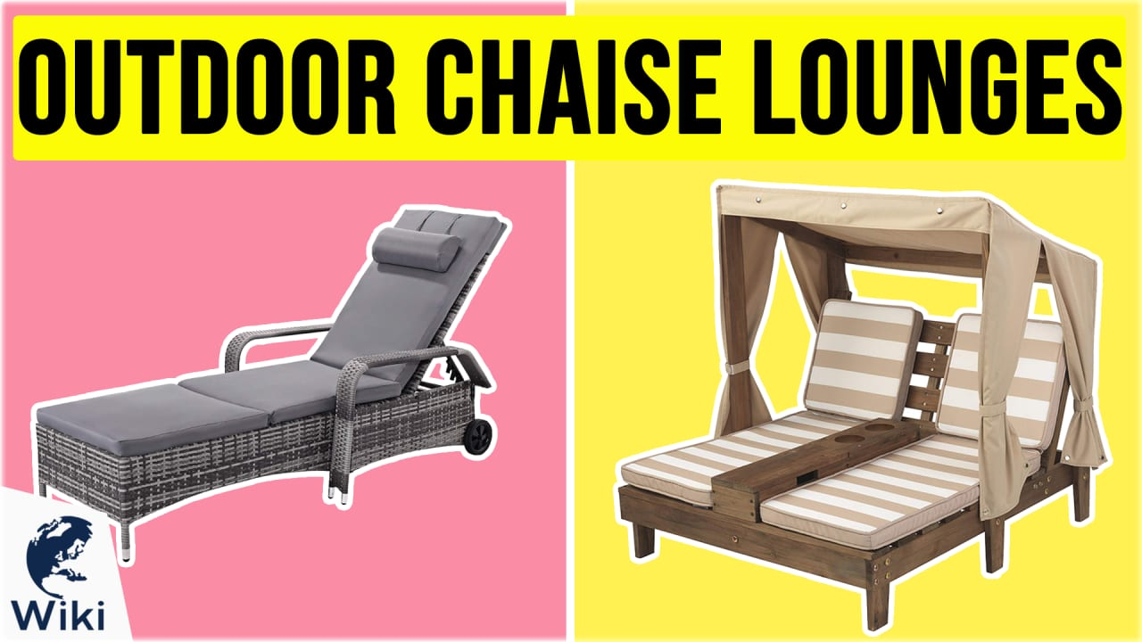 10 Best Outdoor Chaise Lounges