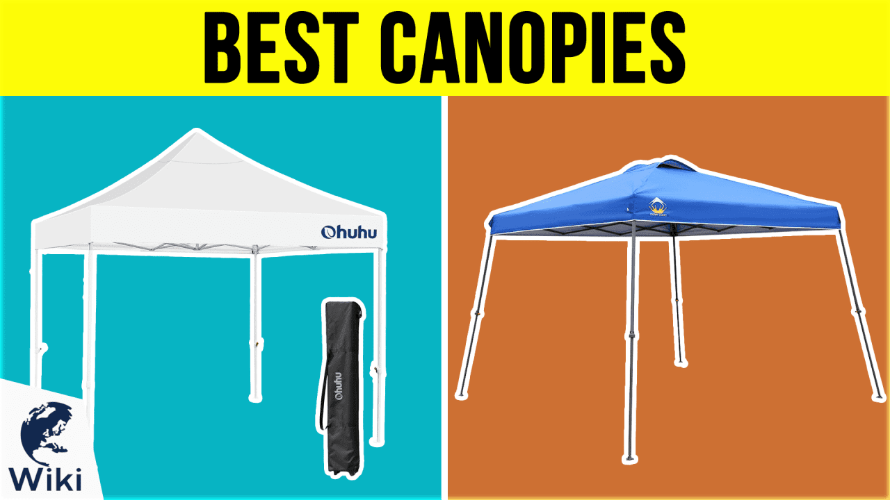 10 Best Canopies