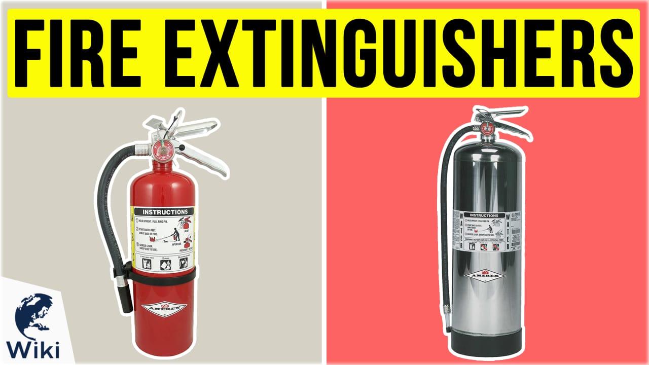 10 Best Fire Extinguishers
