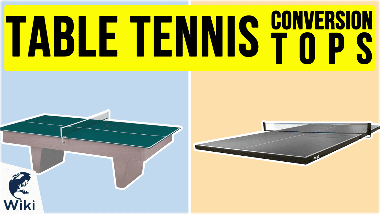 6 Best Table Tennis Conversion Tops