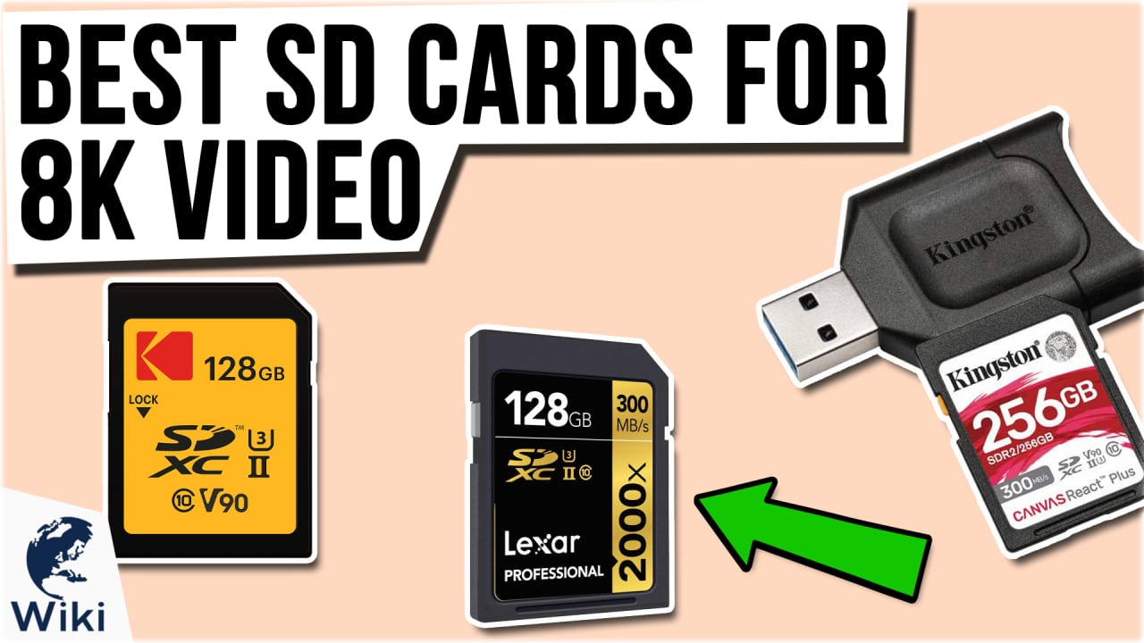 6 Best SD Cards For 8K Video