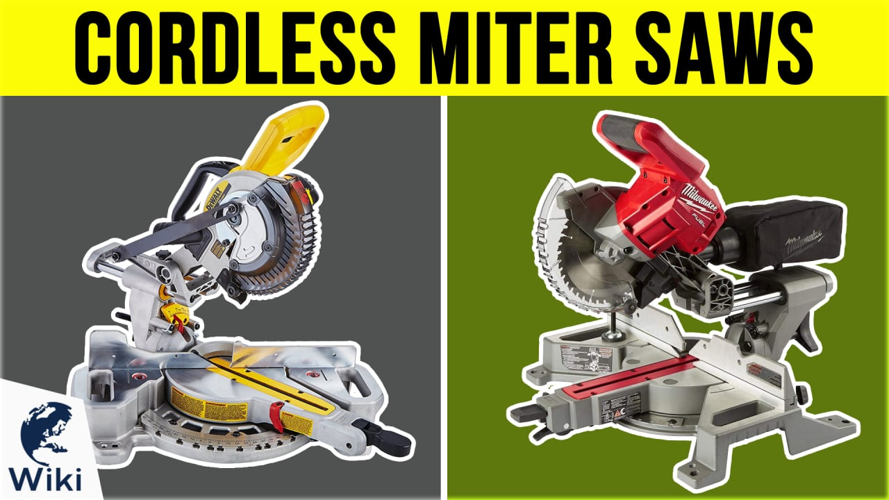 7 Best Cordless Miter Saws