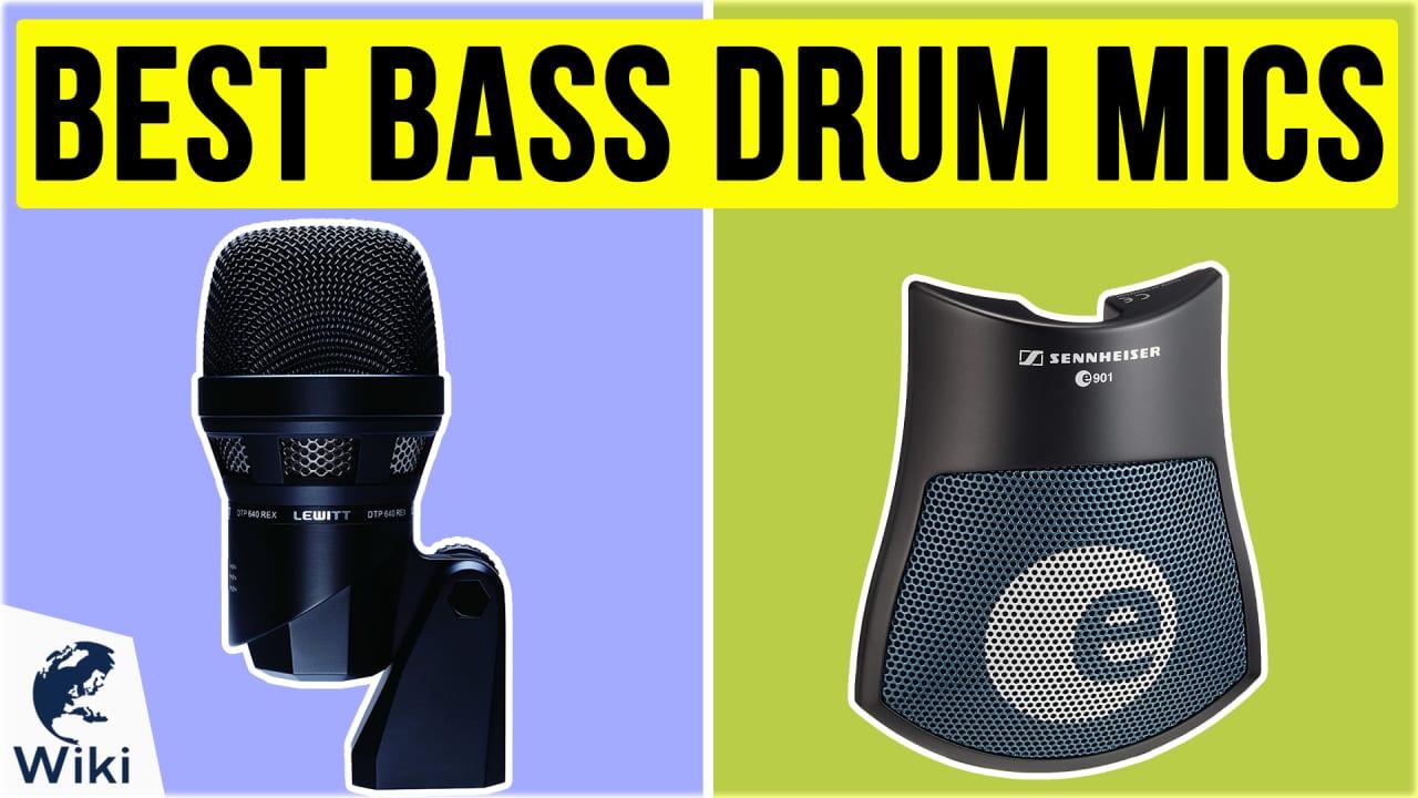 8 Best Bass Drum Mics