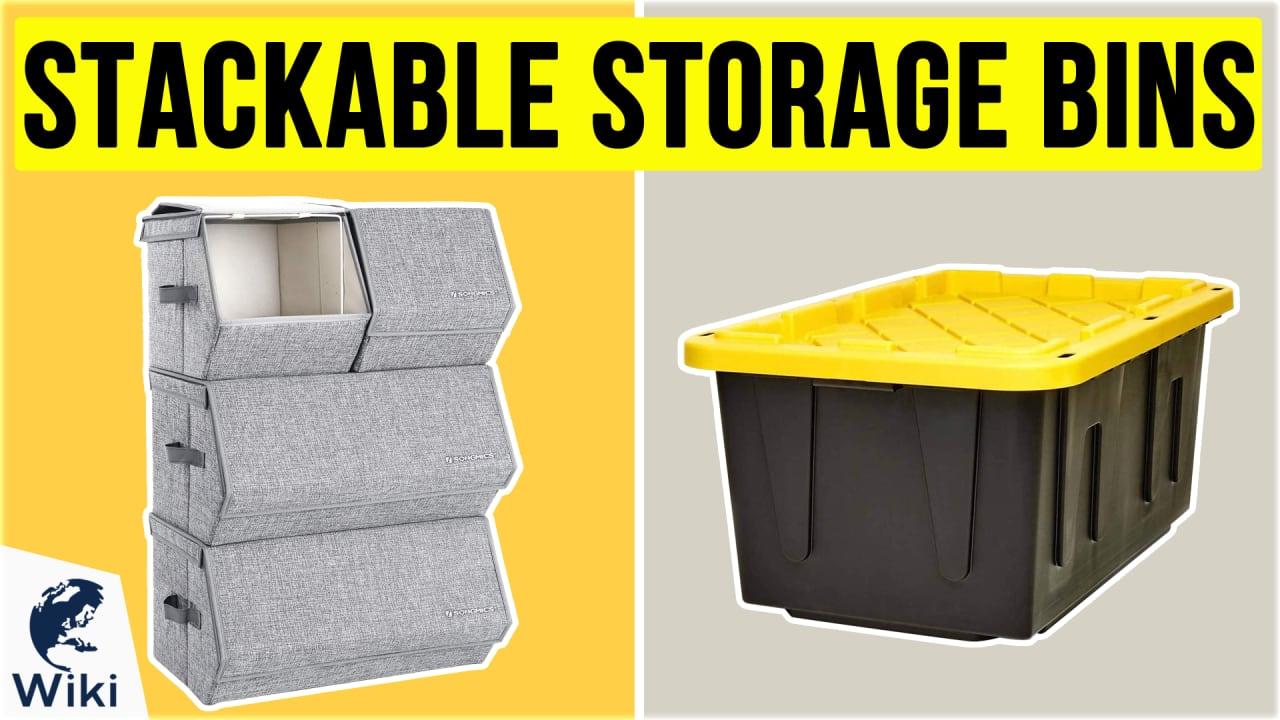 10 Best Stackable Storage Bins