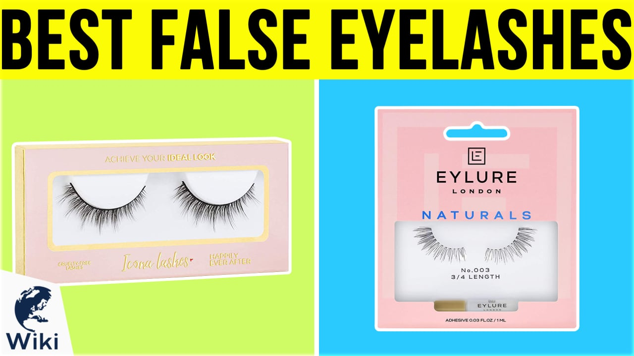 10 Best False Eyelashes
