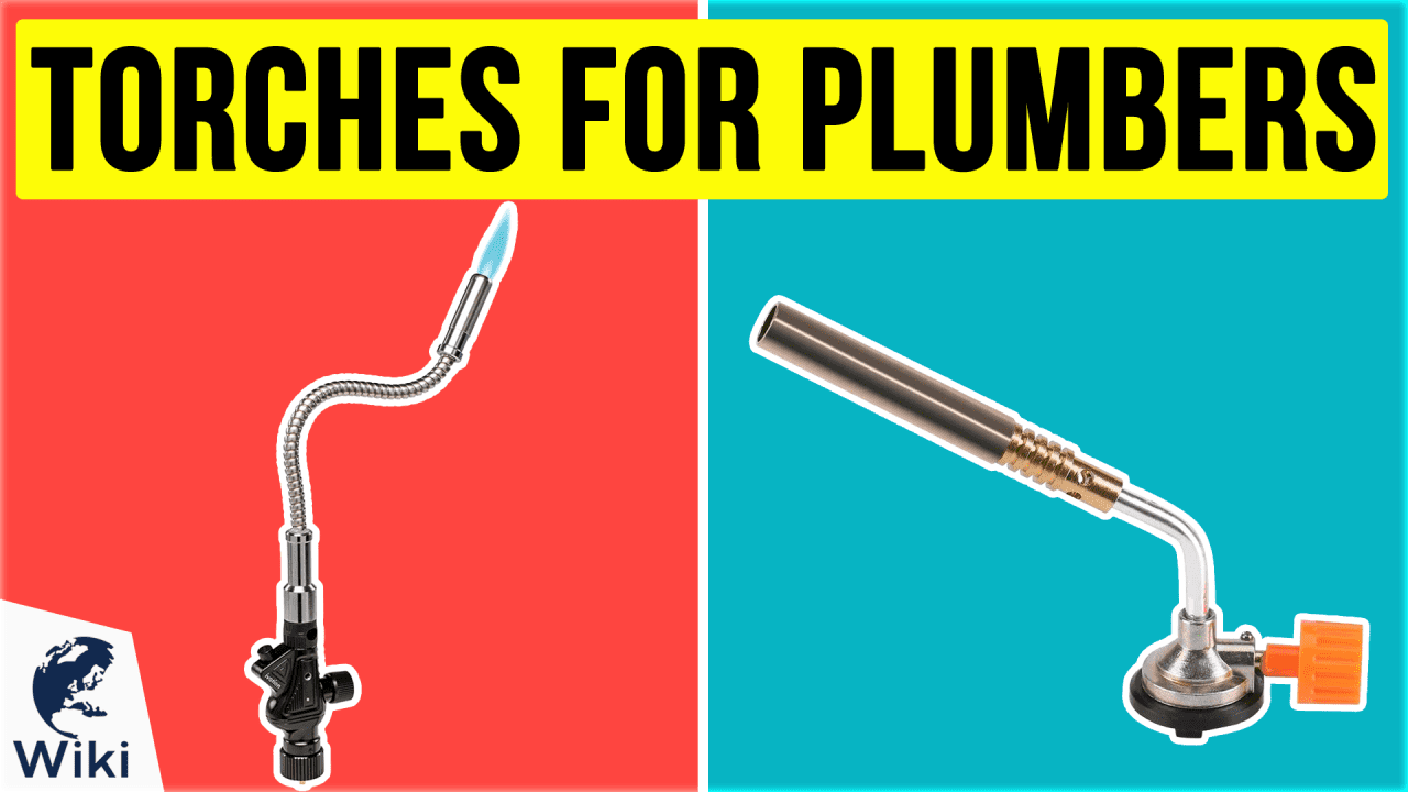 10 Best Torches For Plumbers
