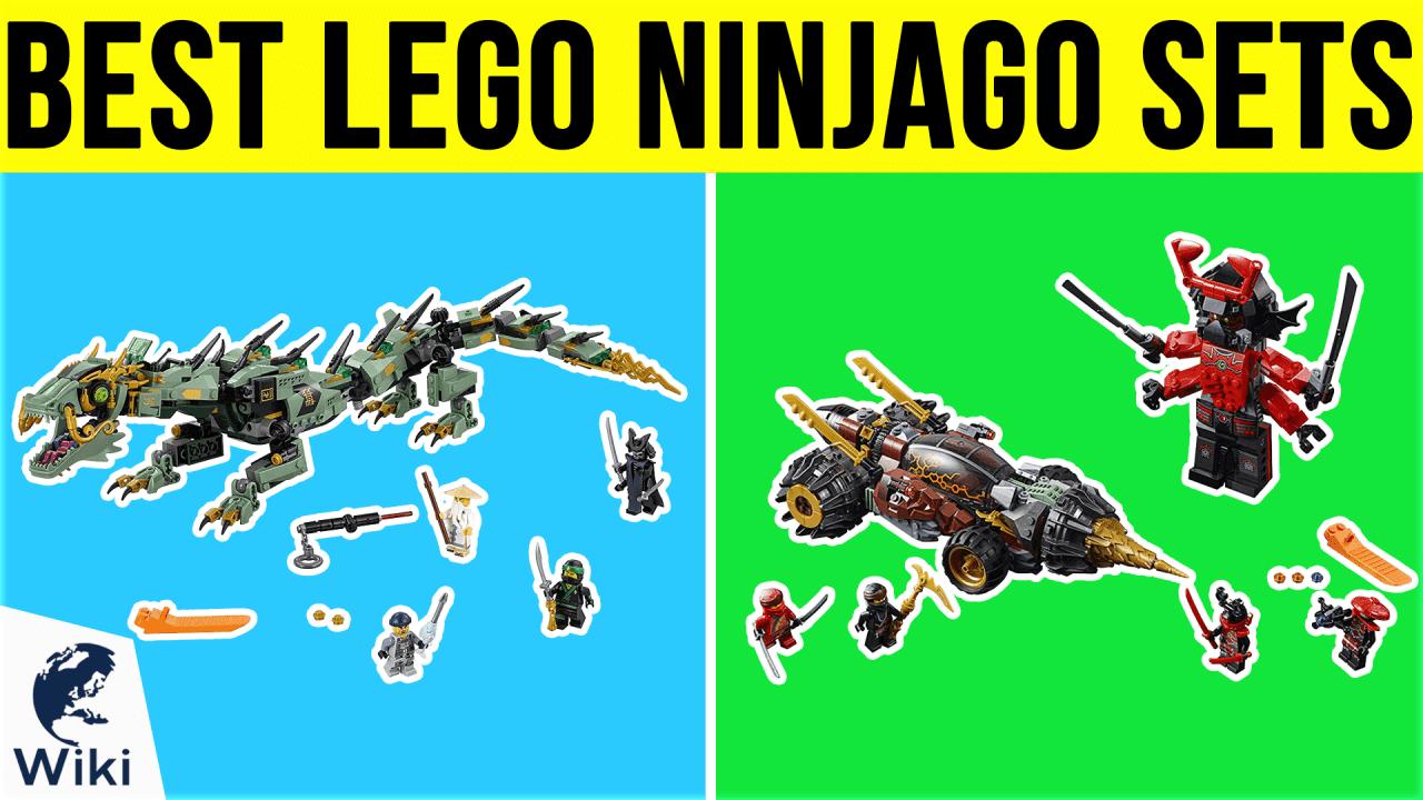 10 Best Lego Ninjago Sets