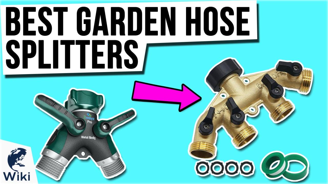 8 Best Garden Hose Splitters