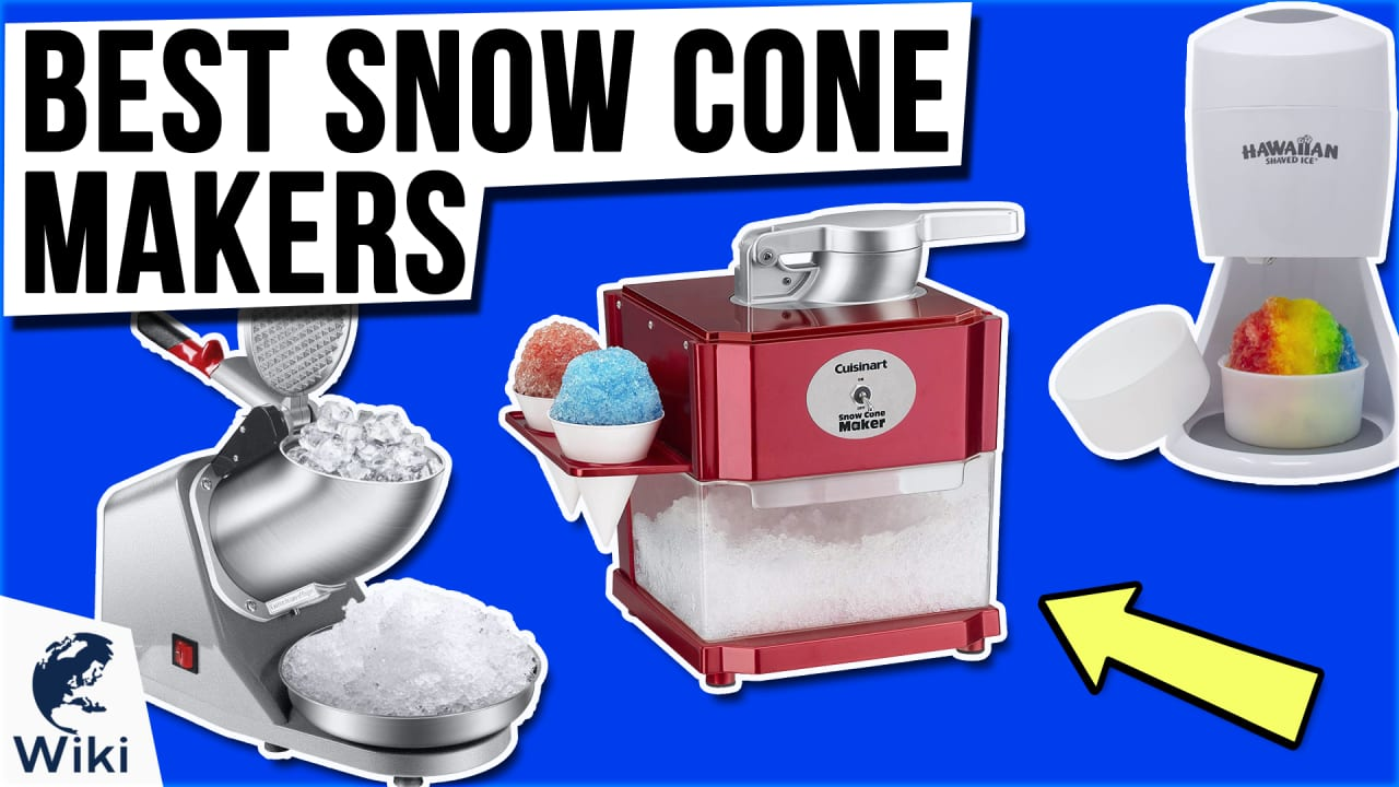 10 Best Snow Cone Makers