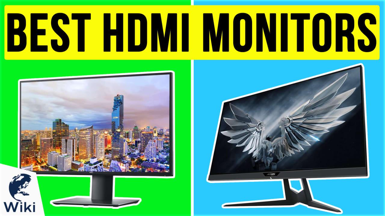 10 Best HDMI Monitors