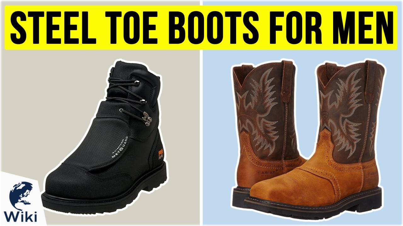 10 Best Steel Toe Boots For Men