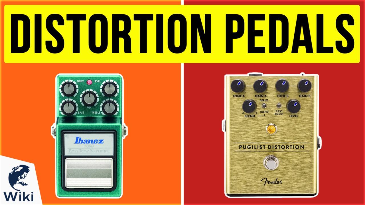 10 Best Distortion Pedals