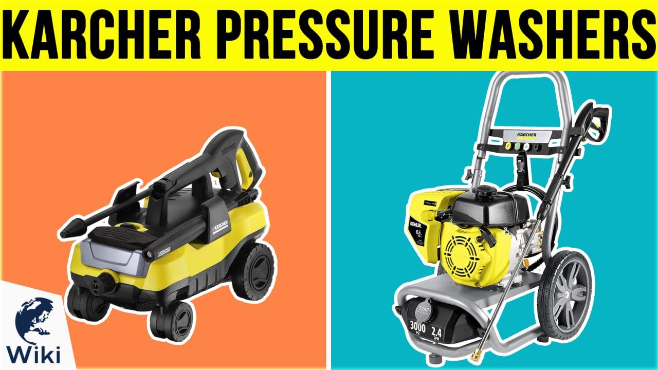 6 Best Karcher Pressure Washers