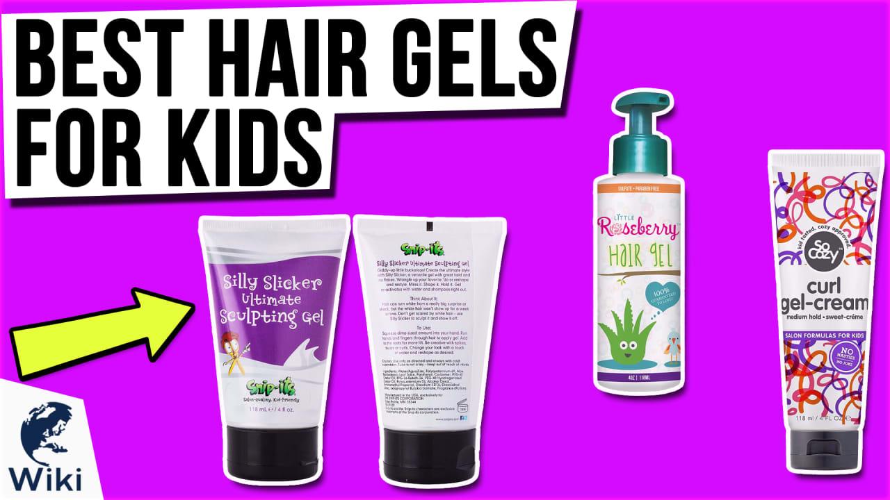 10 Best Hair Gels For Kids