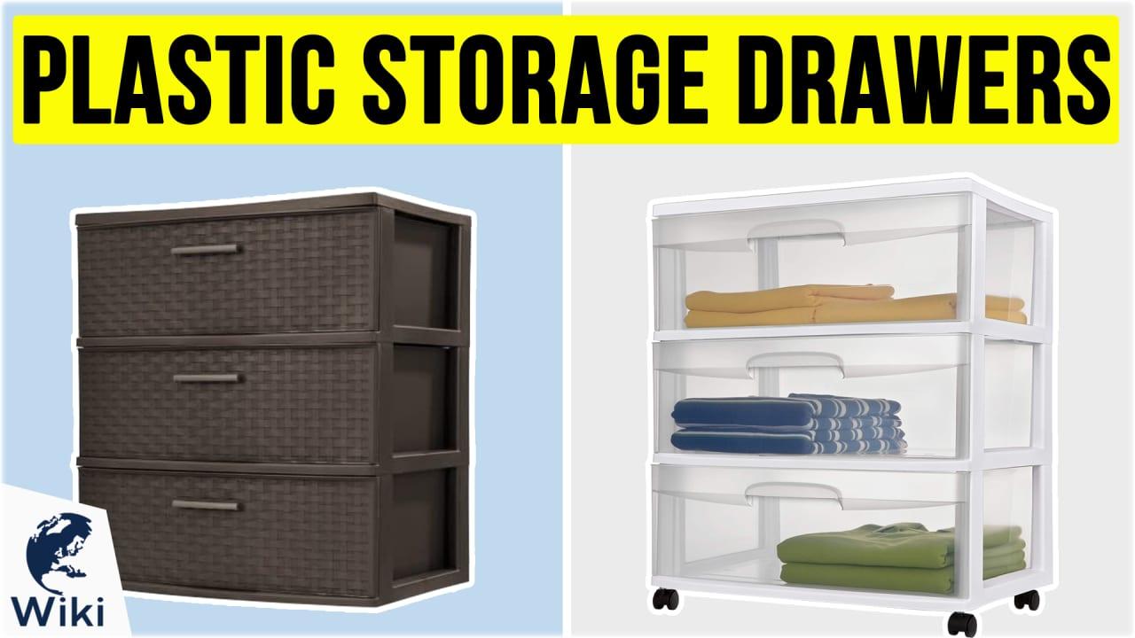 10 Best Plastic Storage Drawers