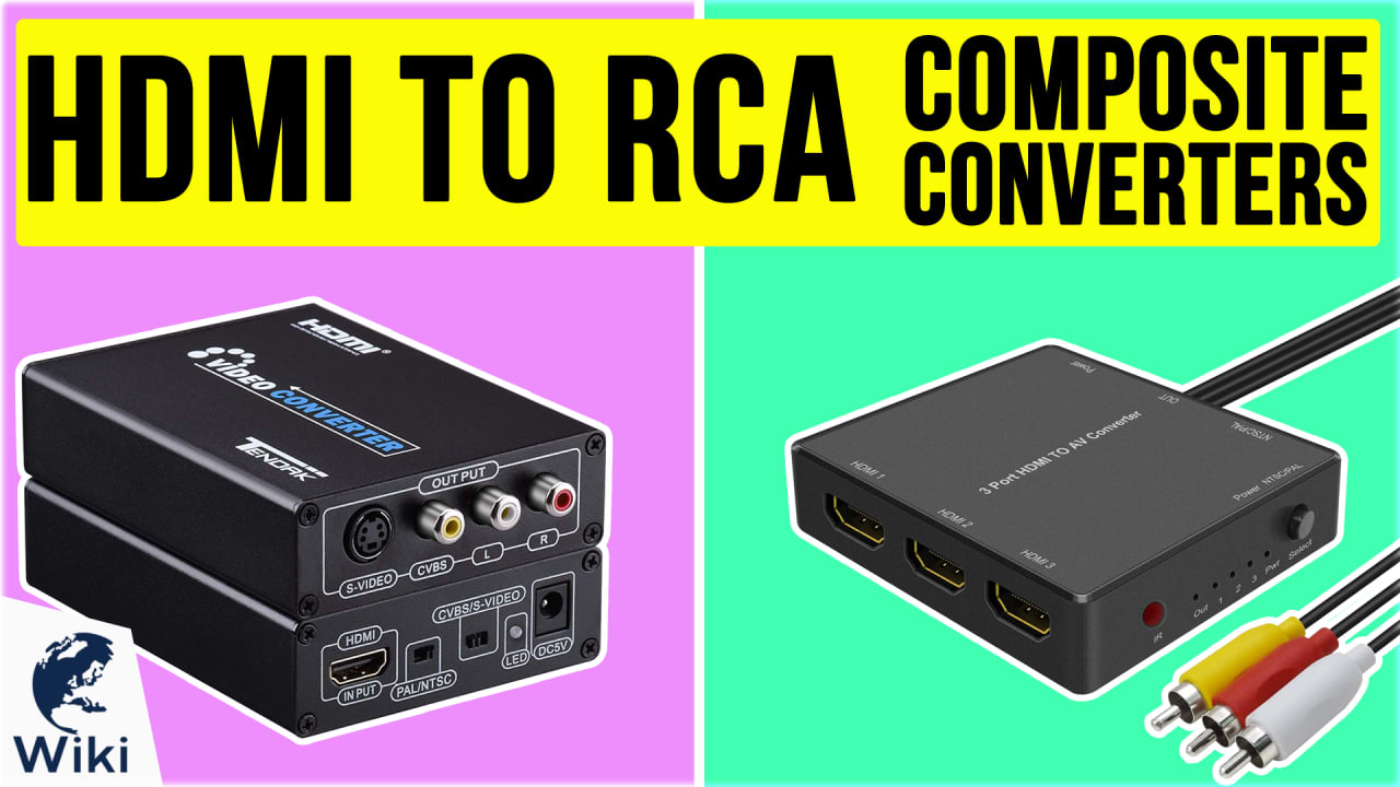 6 Best HDMI To RCA Composite Converters