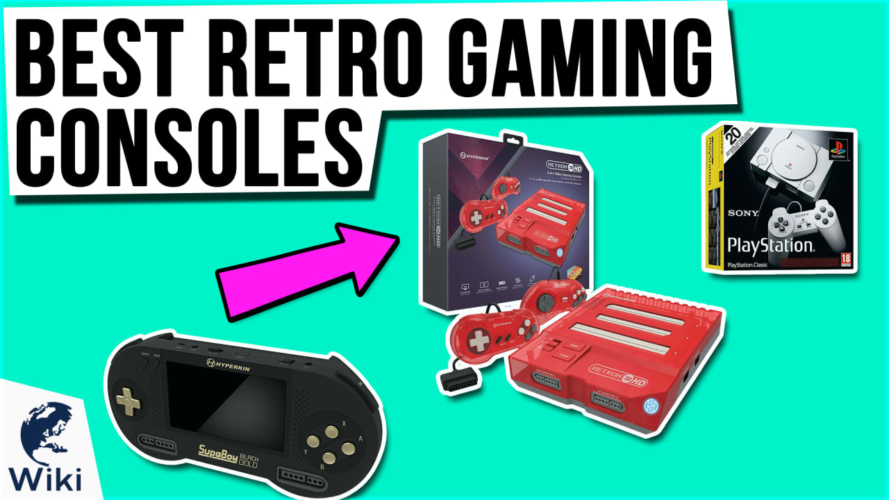10 Best Retro Gaming Consoles