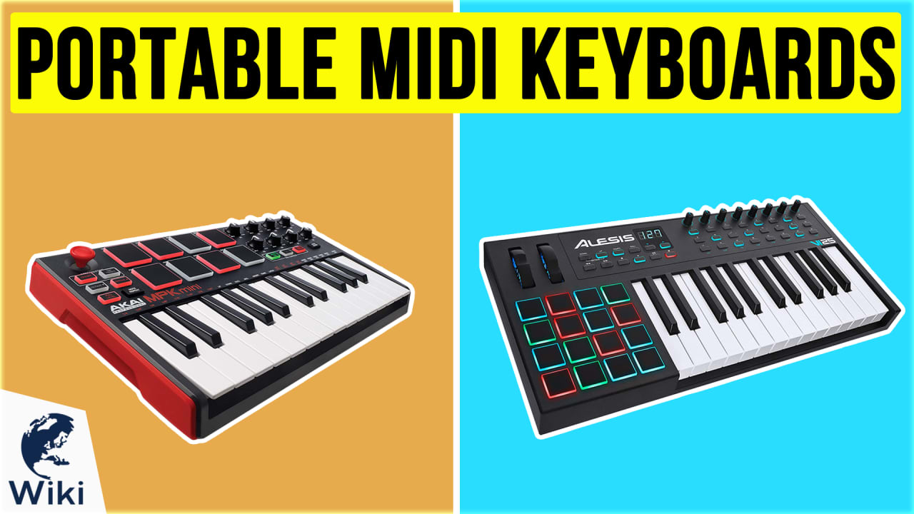 10 Best Portable MIDI Keyboards