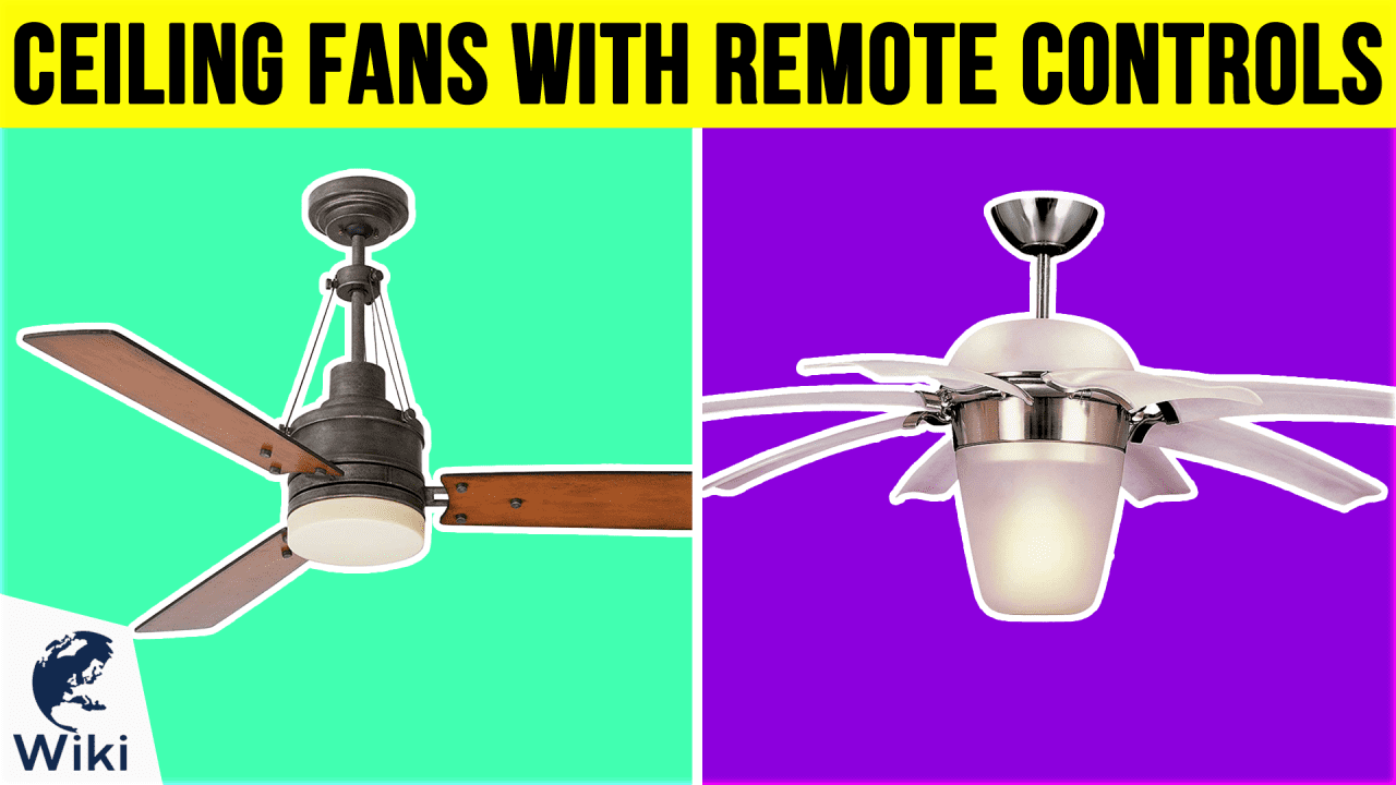10 Best Ceiling Fans With Remote Controls