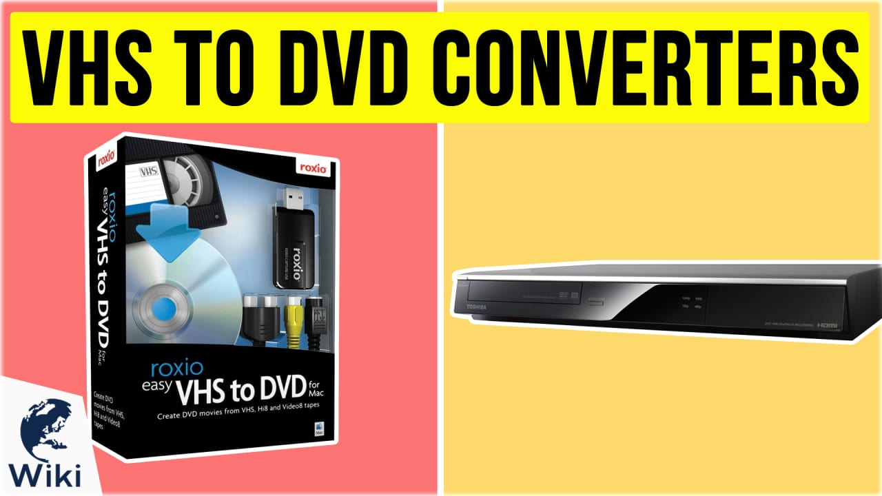 9 Best VHS To DVD Converters