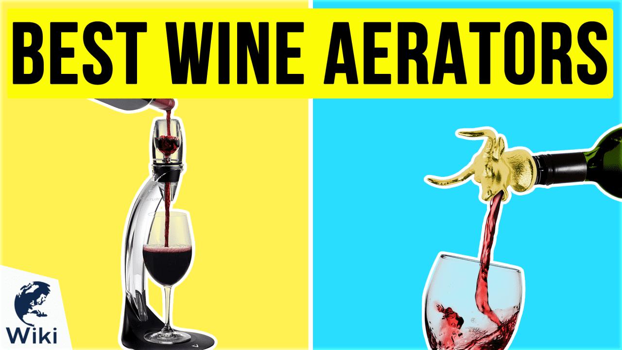 10 Best Wine Aerators