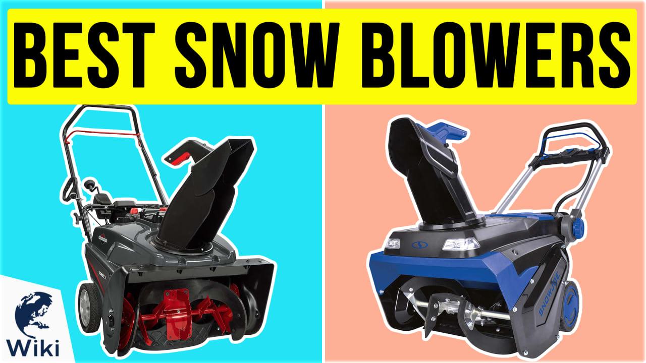 10 Best Snow Blowers