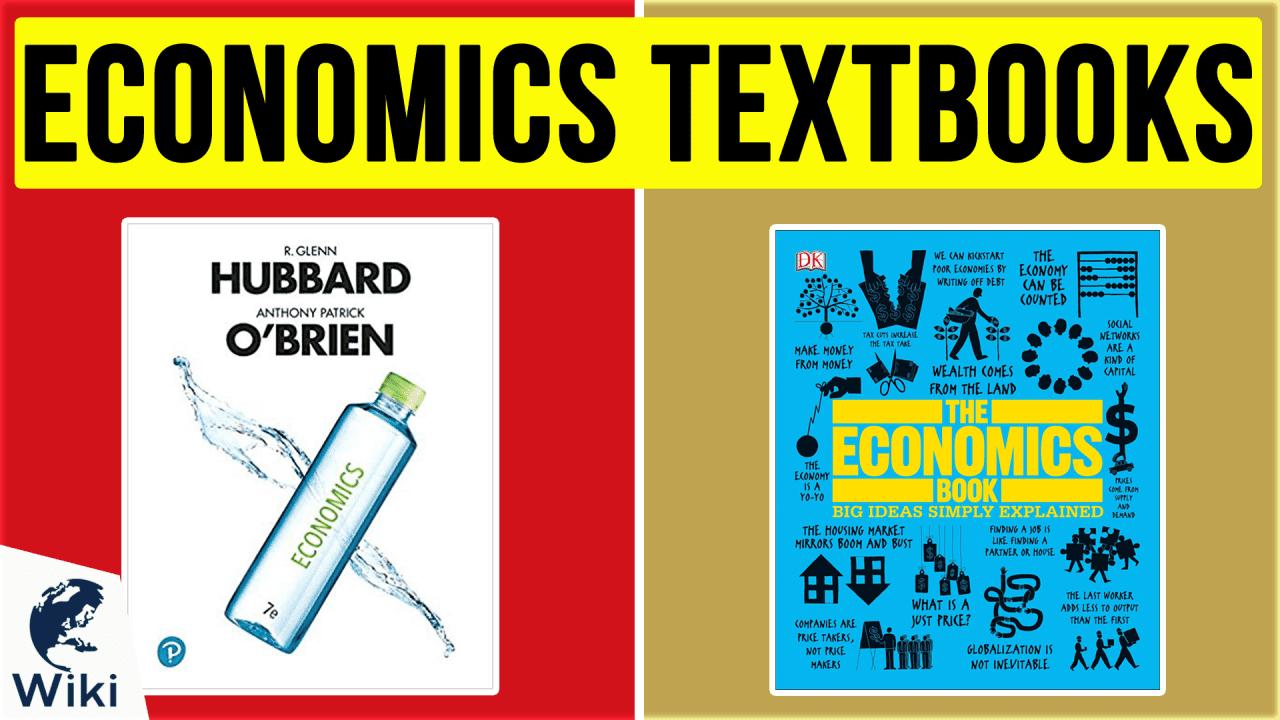 10 Best Economics Textbooks