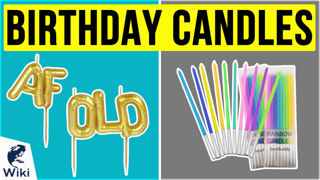 10 Best Birthday Candles