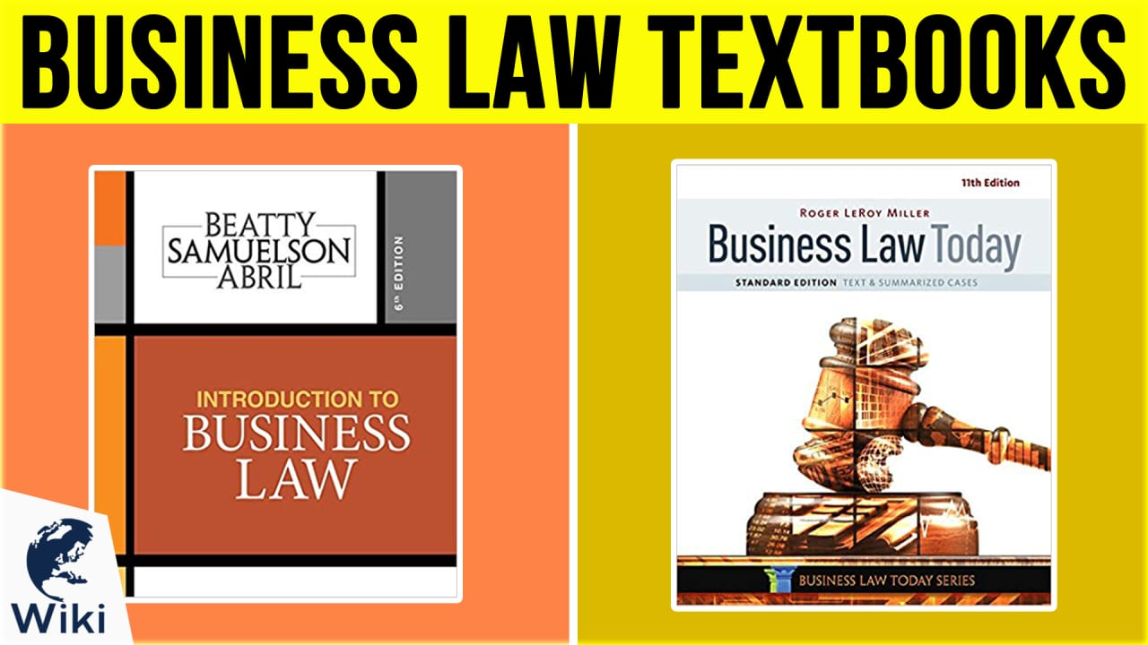 10 Best Business Law Textbooks