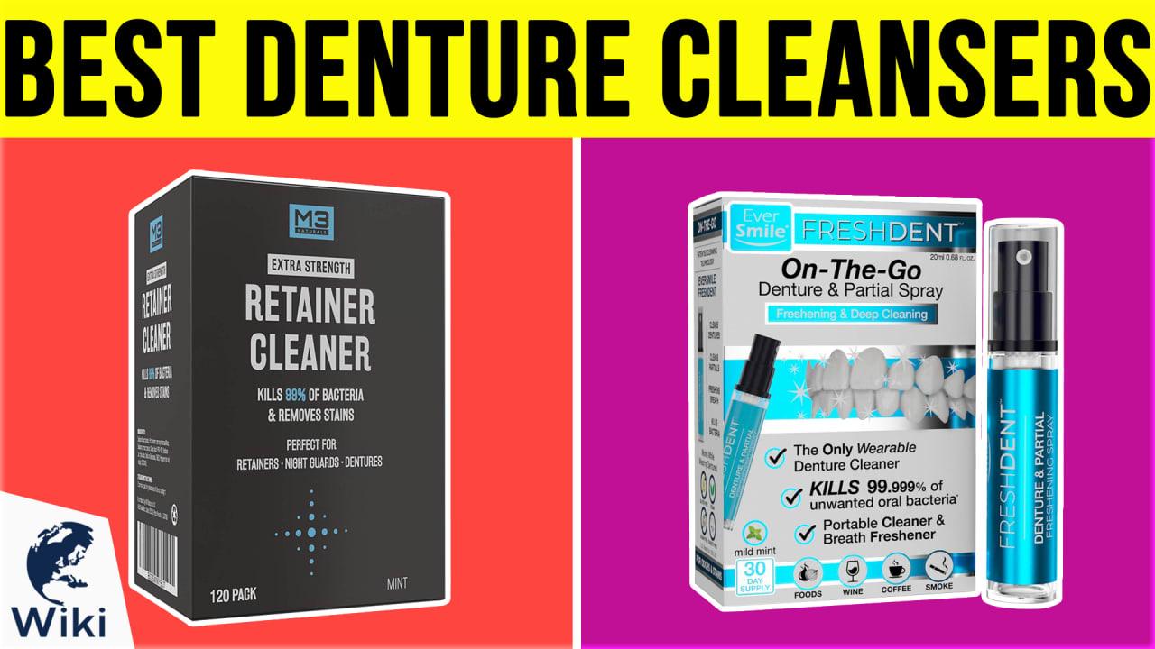 10 Best Denture Cleansers