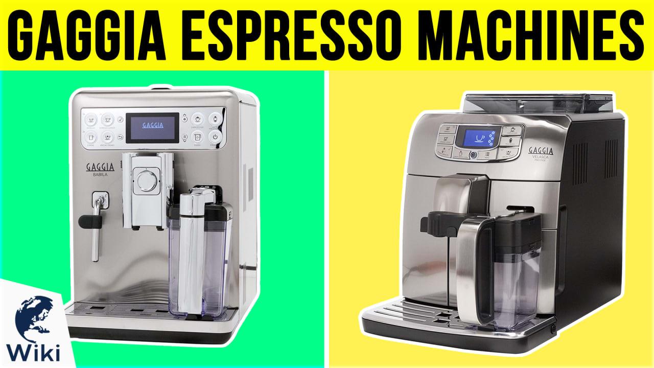 6 Best Gaggia Espresso Machines