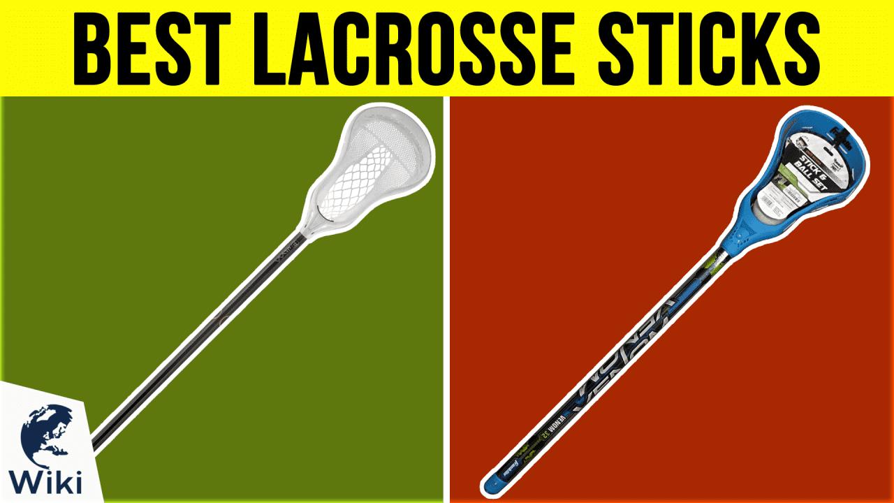 10 Best Lacrosse Sticks