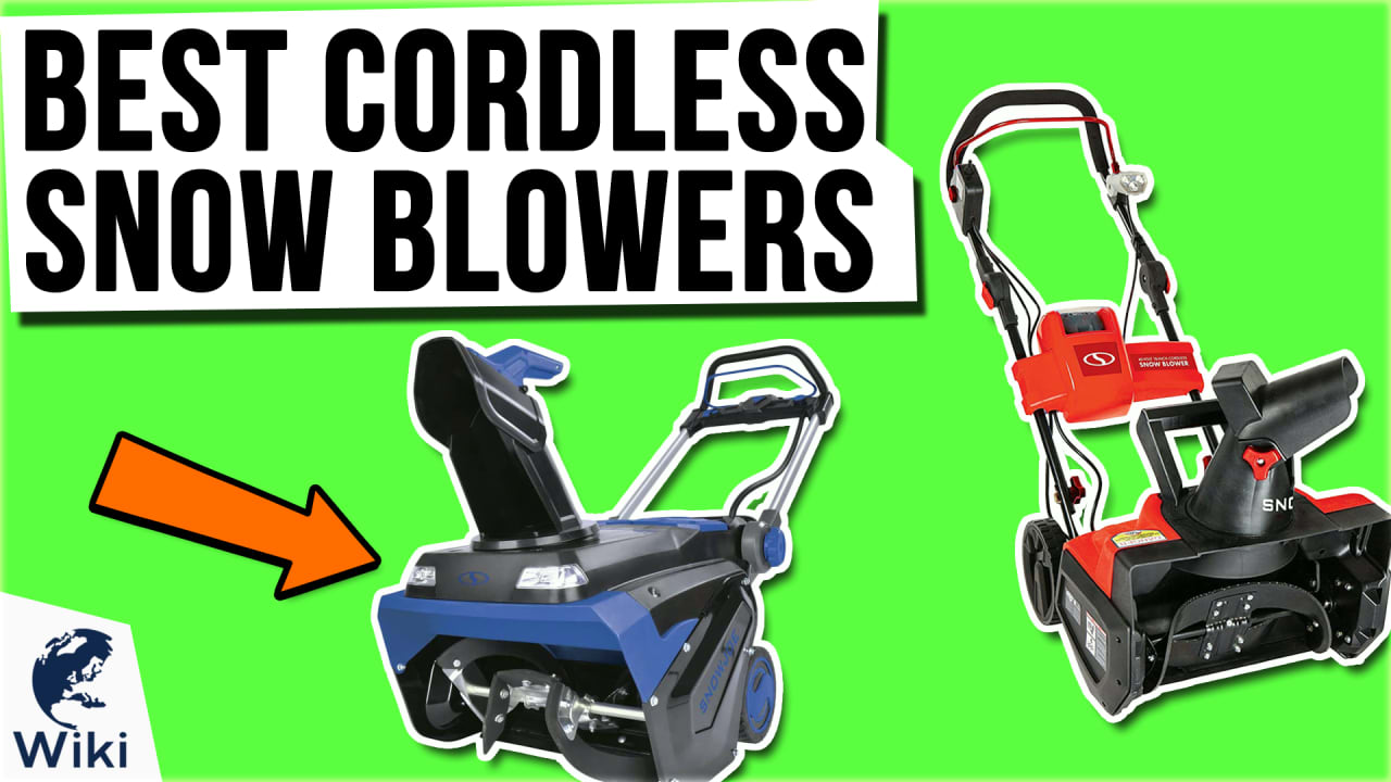 7 Best Cordless Snow Blowers