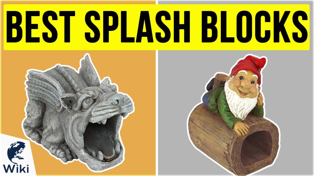 10 Best Splash Blocks
