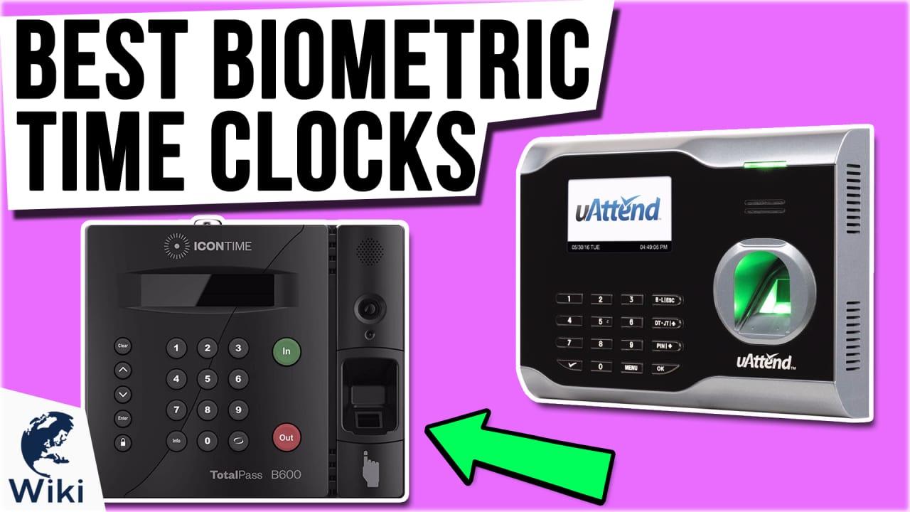 7 Best Biometric Time Clocks