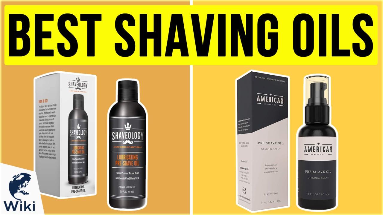 10 Best Shaving Oils