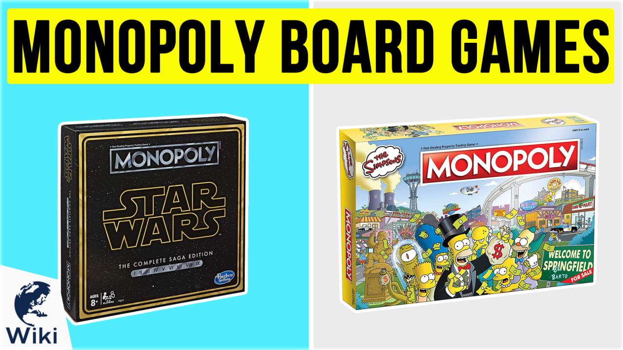 10 Best Monopoly Board Games