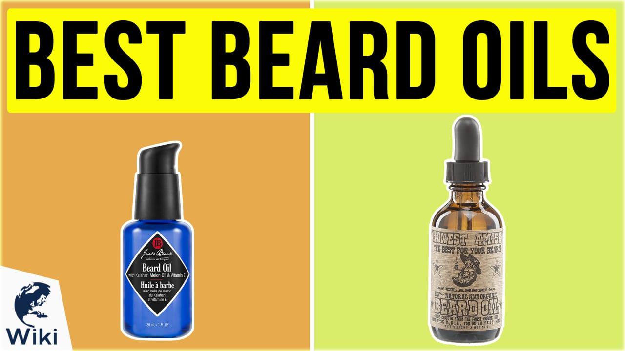 10 Best Beard Oils