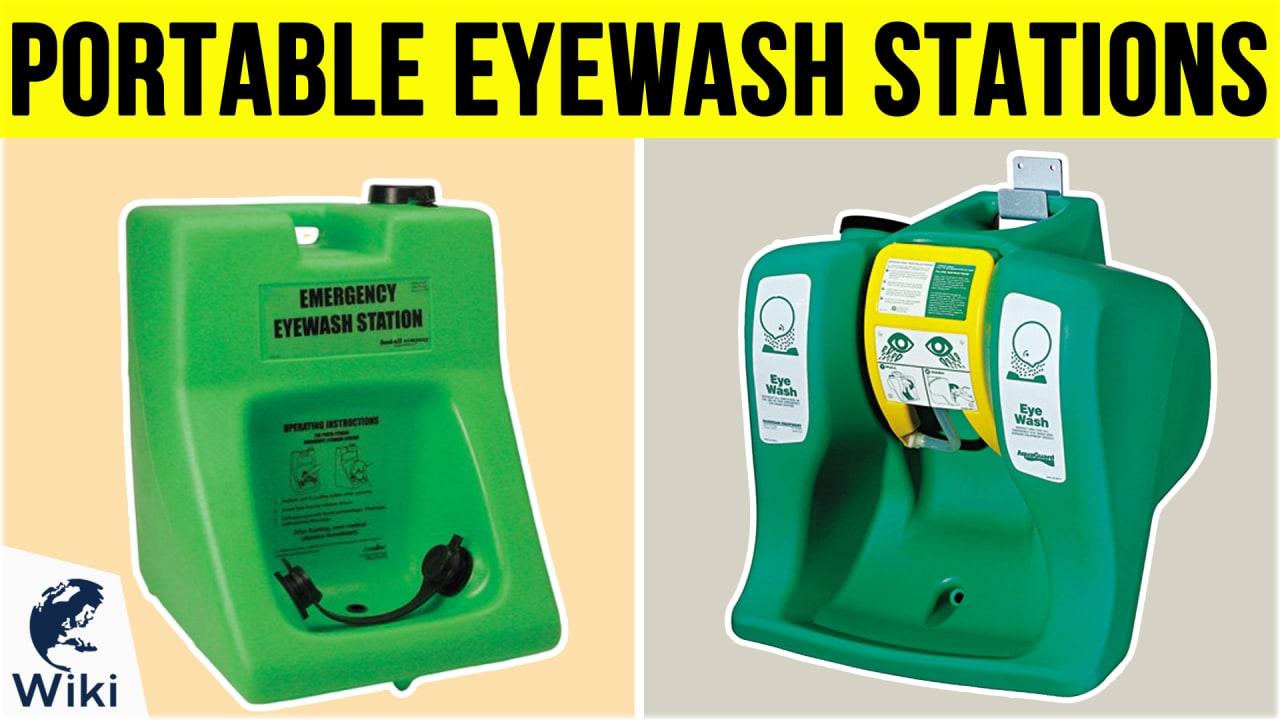9 Best Portable Eyewash Stations